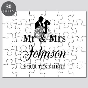 Personalized Mr and Mrs Puzzle